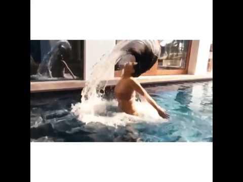 Kim Kardashian Swimming Video 2