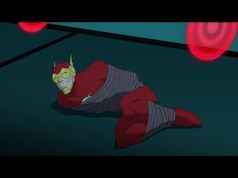 Бэтмен без границ: Учебный бой супергероев (1x07)