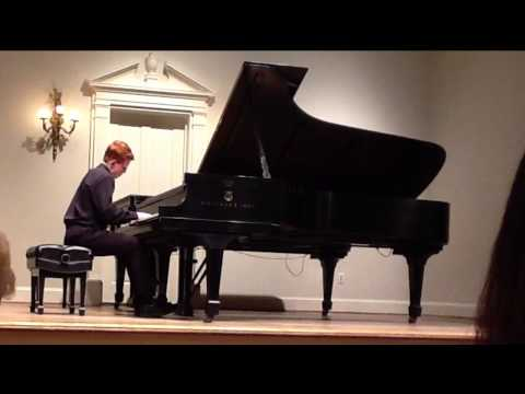 Friday Musicale's Outstanding Young Pianists Concert 2014 - Noah Stone