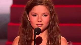 "Jennifer Hudson Video - Bianca Ryan ""I'm Changing"" Jennifer Hudson - Final - America's Got Talent"