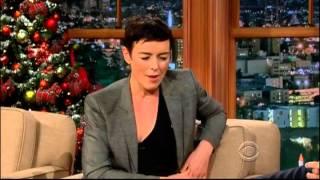 Craig Ferguson 12/13/12E Late Late Show Olivia Williams