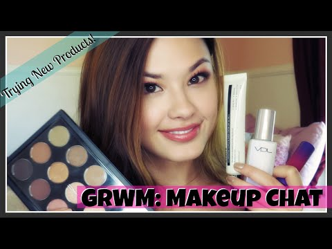 Get Ready With Me: Beauty Chat + Trying New Makeup Products!