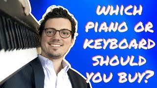 Simple Piano Buying Guide: What Piano/Keyboard Should I Get?