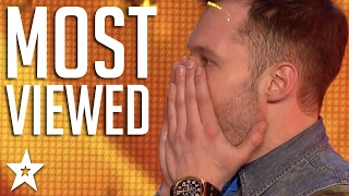 Top 10 Most Viewed Britain 39 S Got Talent Auditions Got Talent Global