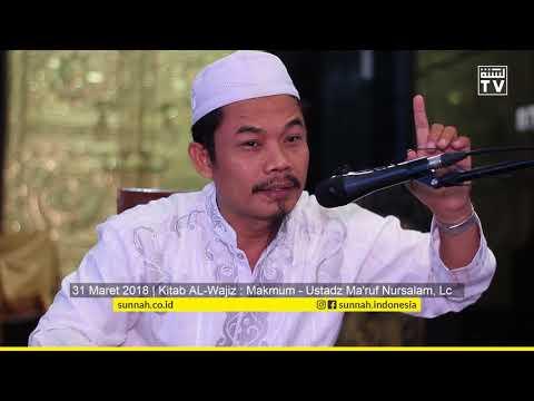 Kitab Al-Wajiz : Makmum - Ustadz Ma'ruf Nursalam, Lc
