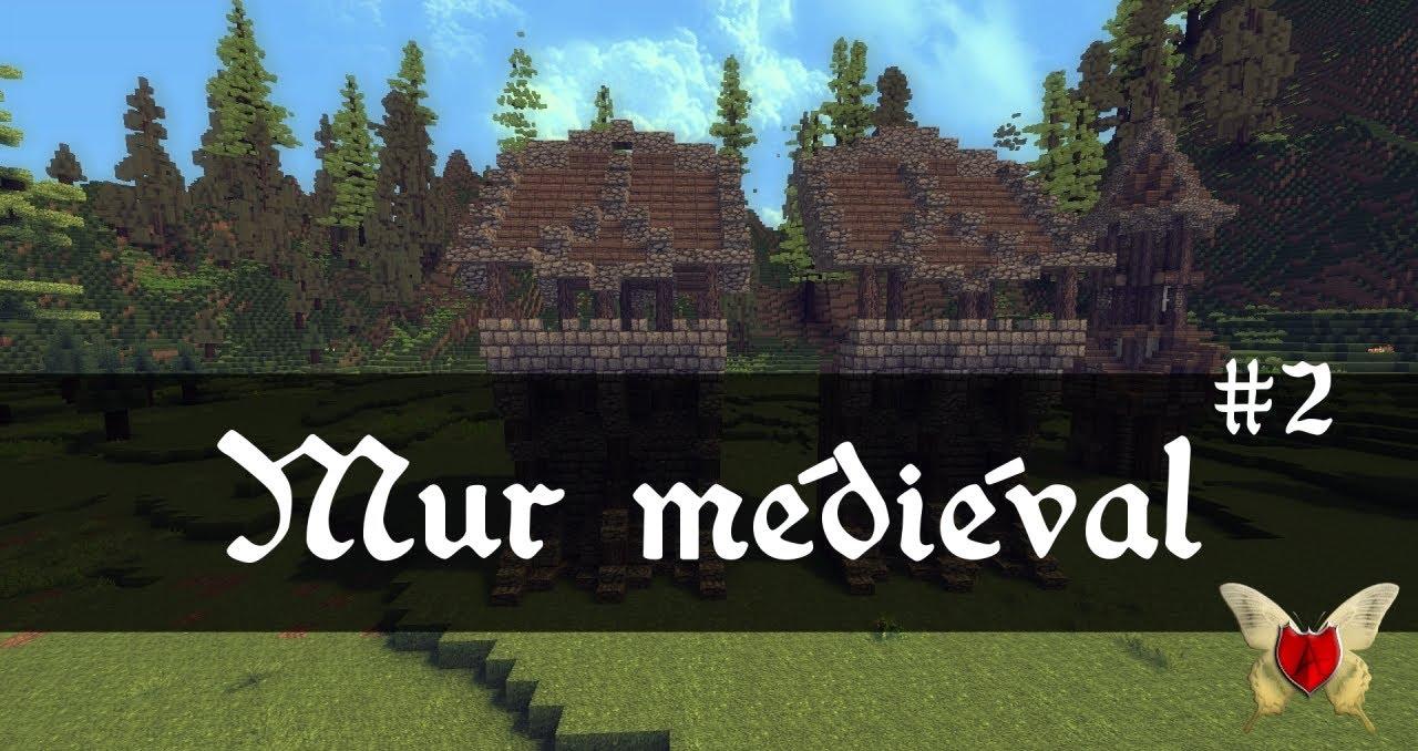 Les mardi tutoriels comment cr er un mur m di val sur minecraft version 2 - Comment creer un chateau dans minecraft ...