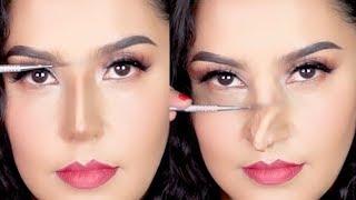 NUEVAS TÉCNICAS DE BELLEZA ASIÁTICA 2018  NARIZ FALSA   / Alin Pescina Makeup  from Alin Pescina Makeup