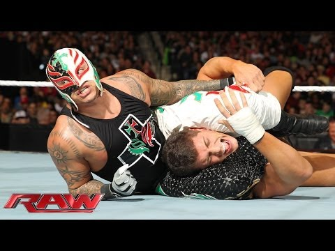 Cody Rhodes & Goldust Vs. Big Show & Rey Mysterio - Wwe App Vote Match: Raw, Dec. 16, 2013 video