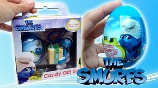 The smurfs 2 movie happy meal toys mystery smurf figures