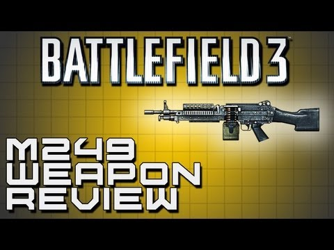 Battlefield 3 Weapon Review - M249