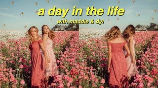Day In the Life! (ft. Maddie Ziegler & Dylan)! | Summer Mckeen