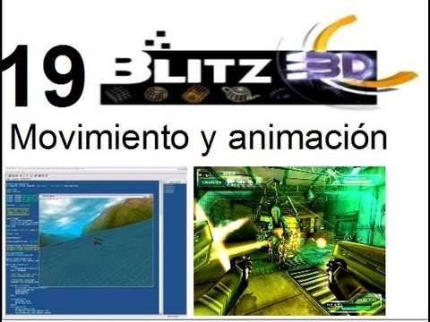 Video 19- Blitz 3d - Moviendo y animando sprites