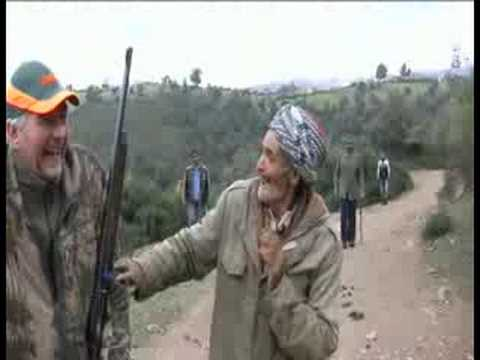 Hunting in wild boars in Tunisia Video