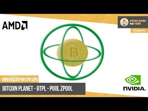 BITCOIN PLANET (BTPL) - MINERAÇÃO PELA CPU E GPU - POOL ZPOOL