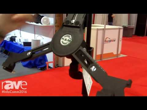 InfoComm 2016: König & Meyer Launches 19791 Universal Tablet Clamp-On