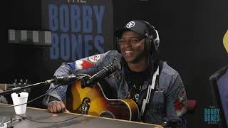 Jimmie Allen Stops By The Bobby Bones Show Studio