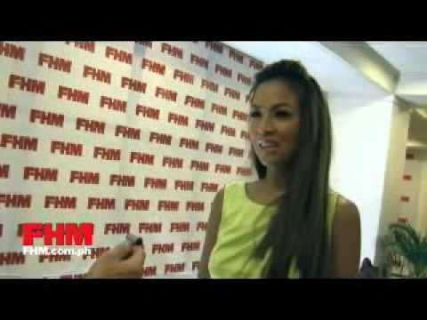 Aubrey Miles talks about her most daring FHM cover