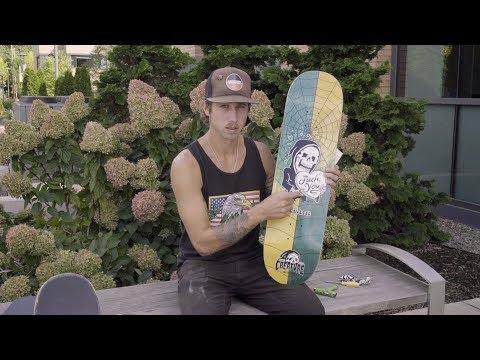David Gravette Gets Weird On His Skateboard
