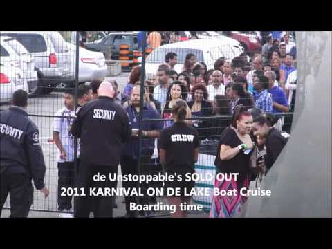 Karnival On De Lake Boat Cruise 2012 promo. Boarding Time