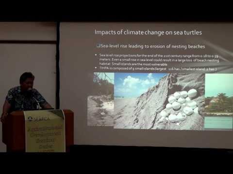 Sea Turtles and The Turtle Islands and Some Impacts of Climate Change