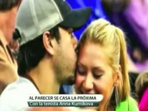 Enrique Iglesias se casa con Anna Kournikova