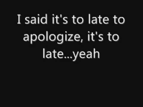 OneRepublic  Apologize Lyrics