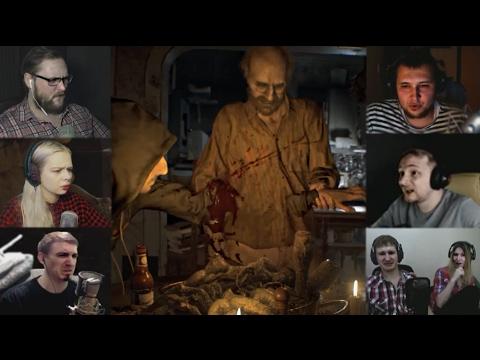 Resident Evil 7: битвы с боссами
