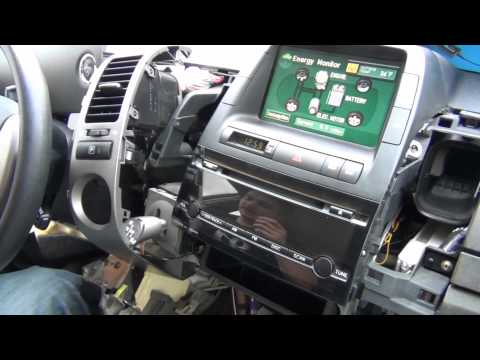 GTA Car Kits - Toyota Prius 2004-2009 with MFD display iPod, iPhone and AUX adapter installation