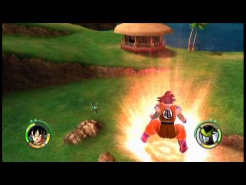 DBZ Raging Blast 2 - Set up for Super Saiyan God Goku