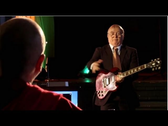 The Nobel Funk Off Auditions: Mikhail Gorbachev