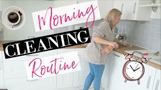 CLEAN WITH ME 2019 | MY MORNING CLEANING ROUTINE 2019 | MORNING CLEANING MOTIVATION