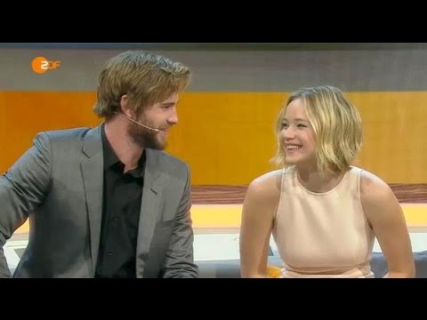 Jennifer Lawrence and Liam Hemsworth on