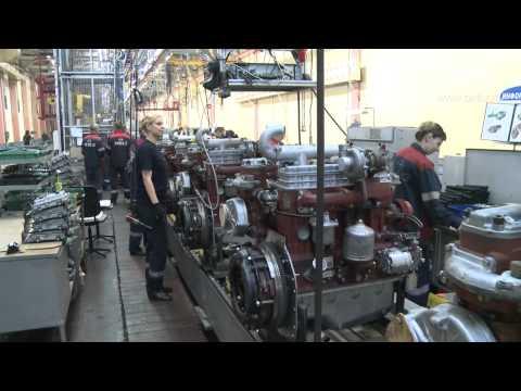 В Беларуси создан двигатель малой мощности ММZ-3LD