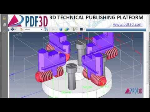 DWG to 3D PDF Conversion Video Tutorial