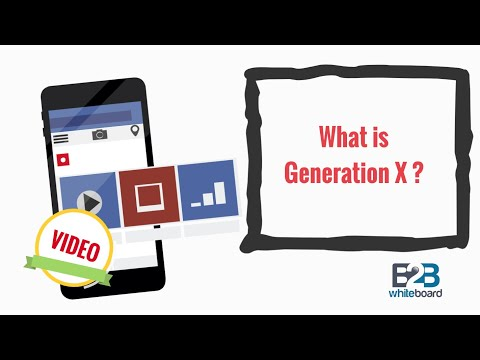 What is Generation X?