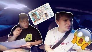 I took my DRIVERS TEST in my FERRARI!