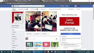 Unir tu fanpage con tu whatsapp, Contactar a whatsapp por fanpage