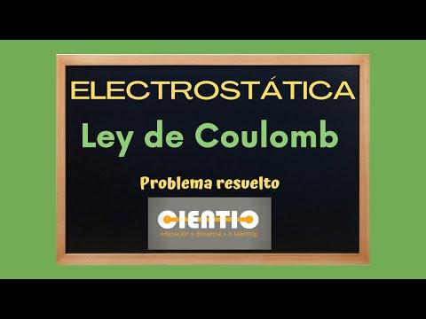 Ley de Coulomb  - Aplicación a un problema