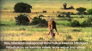 Roho yangu na ikuimbie - Tom Randa (Then sings my soul music/Swahili lyrics)