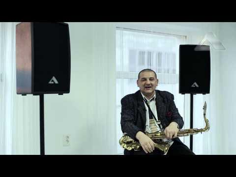 Musician saxophonist Zoltan