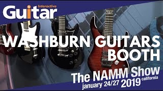 NAMM 2019 | Washburn Guitars