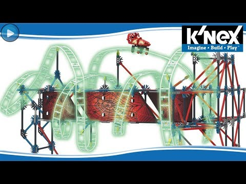 WEB WEAVER ROLLERCOASTER - KNEX REVIEW