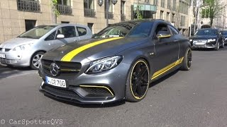 750HP Manhart CR700 Mercedes C63S AMG Coupe! INSANE REVS and Acceleration!