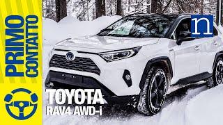 Toyota RAV4 2019 Hybrid AWD-i  | Dolomiti Test Prova suv ibrido 4x4 2.5L / 100 g/km CO2