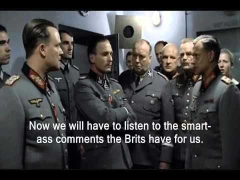 Hitler is Informed The Brits Won Tour De France