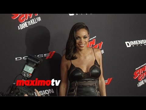 Rosario Dawson | Sin City A Dame To Kill For | Los Angeles Premiere video