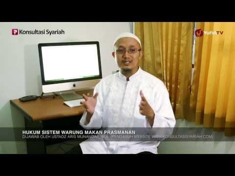 Konsultasi Tanya Jawab Syariah: Hukum Makan Di Warung Prasmanan - Ustadz Aris Munandar