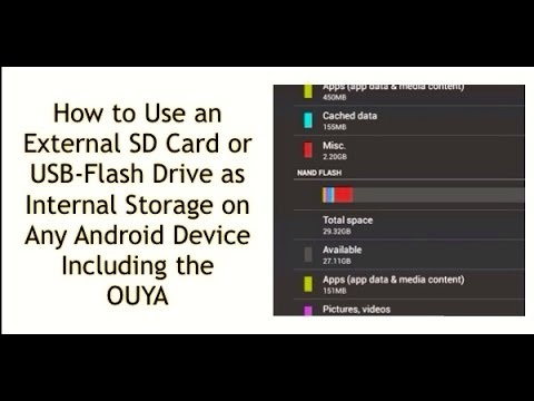 How To Use A Micro Sd Or Sd Card As Internal Storage On