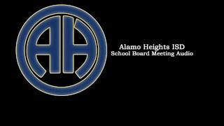 AHISD School Board Meeting Audio - June 21, 2018