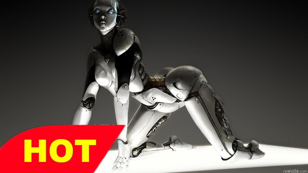 Sexy female robot hentai nudes movies